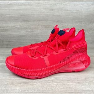 Under Armour Curry 6 Heart of the Town Size 13 Red